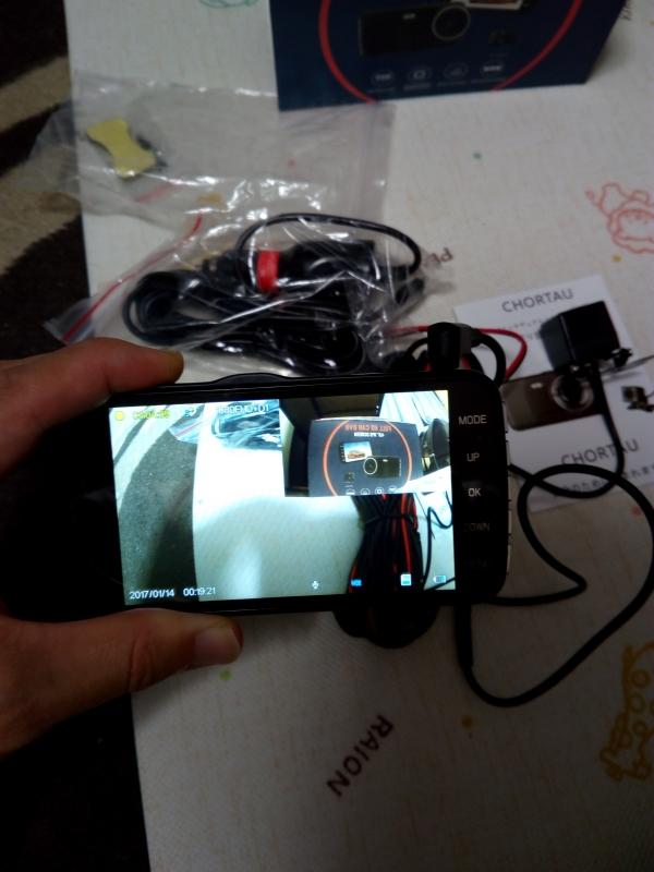 デュアルドライブレコーダー【改良版】Chortau 前後カメラ 1080PフルHD SONYセンサー/レンズ 1800万画素 170度広角 4.0インチIPS G-sensor 駐車監視 WDR【永久保証】