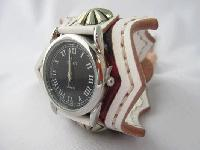 レザーウォッチ(腕時計)ホワイト