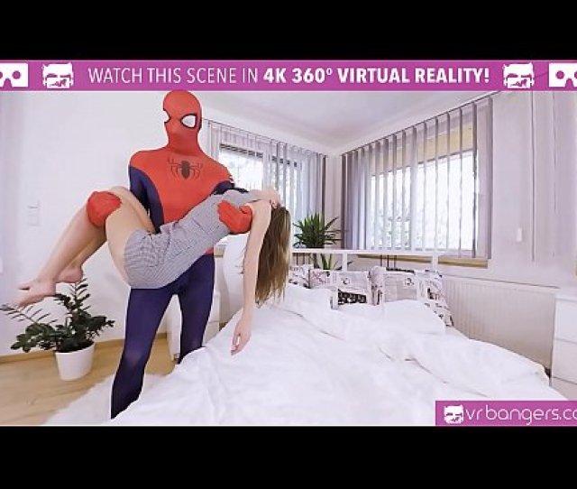 Vrbangers Com Spider Man Xxx Parody With Sexy Teen Gina Gerson Xnxx Com