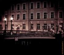 мост, мосты питера, санкт-питербург, мостик, львиный мост, Львиный мостик, канал Грибоедова, ночь, улица, фонарь, аптека, ночь-улица-фонарь-аптека