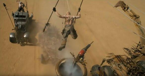 Каскадеры «Безумного Макса» показали, что можно снимать и без спецэффектов