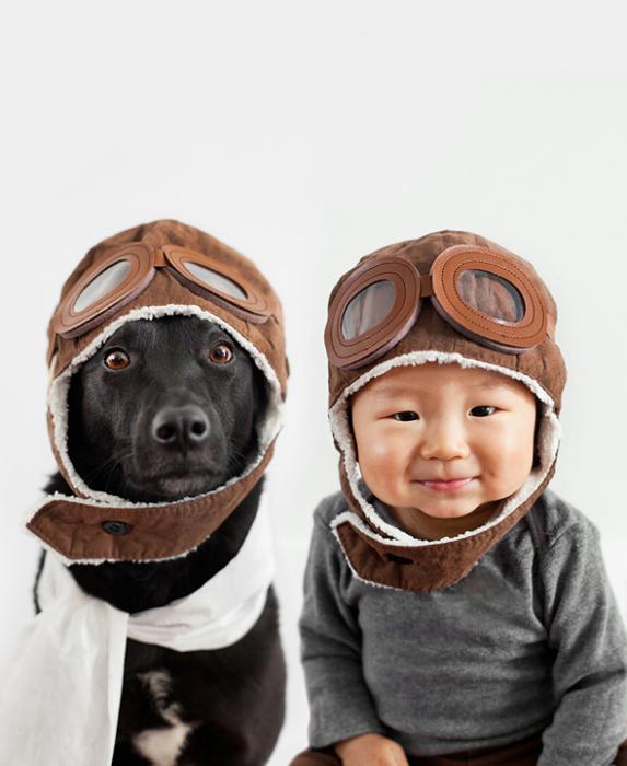 Шапка-шлем летчика