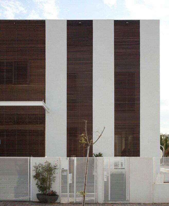Климатический частный дом в Израиле— естественное охлаждение внутренних помещений