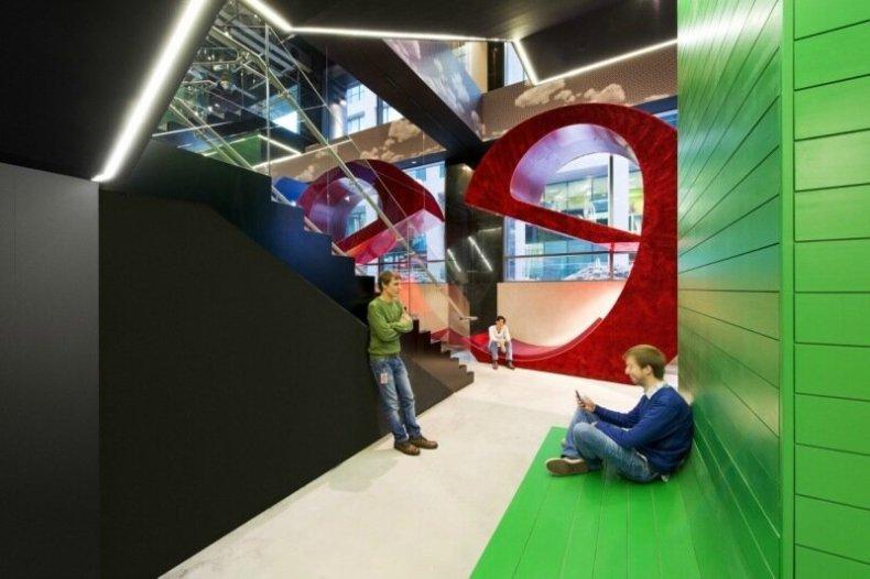 Фотографии штаб квартиры Google в Дублине (75 фото)