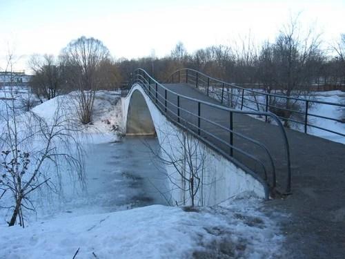 Мост через Серебрянку