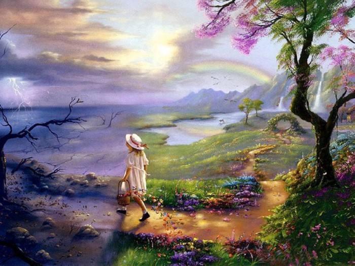 Мэри Бакстер Сент-Клер. Феи и ангелы