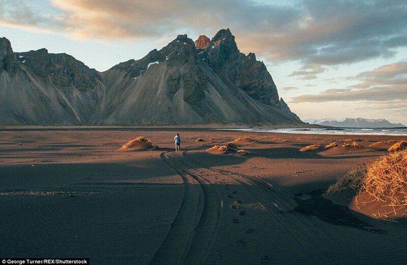 Гора Клифациндур с видом на Атлантический океан. Эта местность пользуется большой популярностью у фотографов.