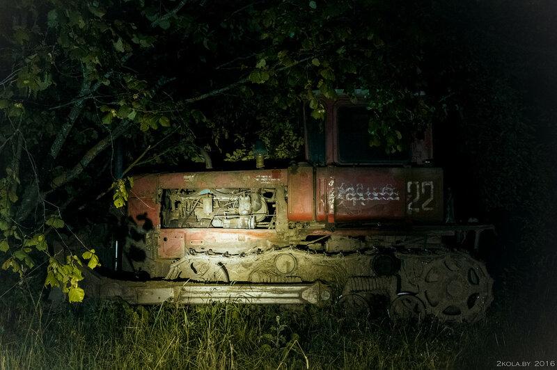 Ночная покатушка на оз. Свитязь