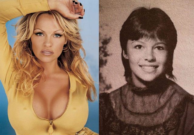 Фотографии из школьных альбомов знаменитостей