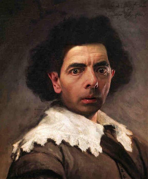 Исторические портреты с комиком Мистером Бином