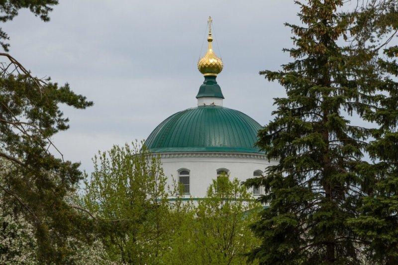 Купол Ильинско-Тихоновской церкви, Ярославль