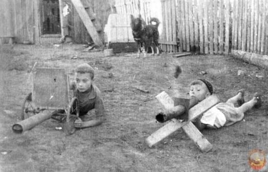 Летние дворовые забавы, игры и «затей» советских детей