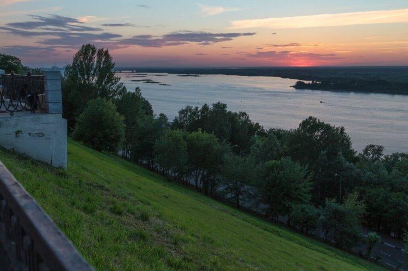 Волга, Нижний Новгород