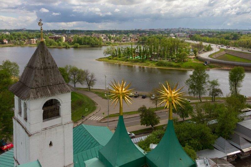 Панорама Ярославля