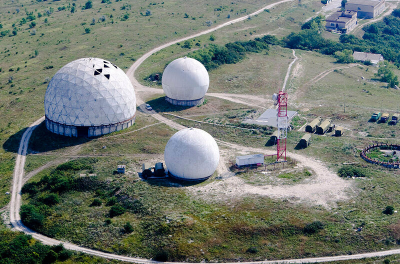 Обсерватория близ Анапы. Краснодарский край