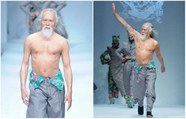 Ванг Дешун, 80 лет.