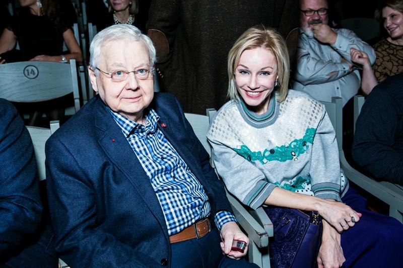 Олег Табаков и Марина Зудина - разница в возрасте 30 лет