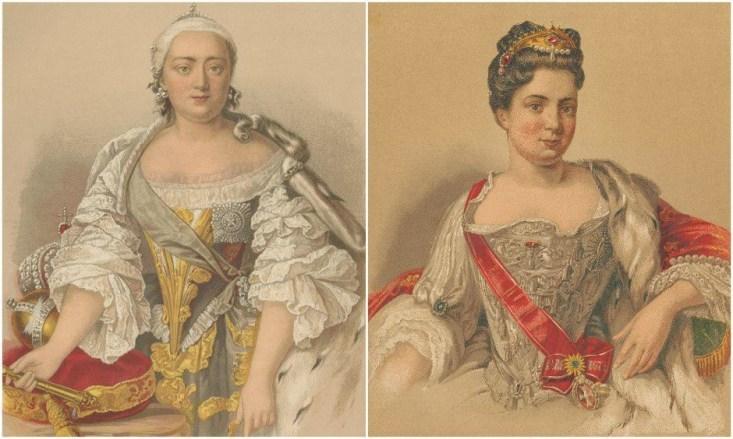 Елизавета Петровна, Екатерина I