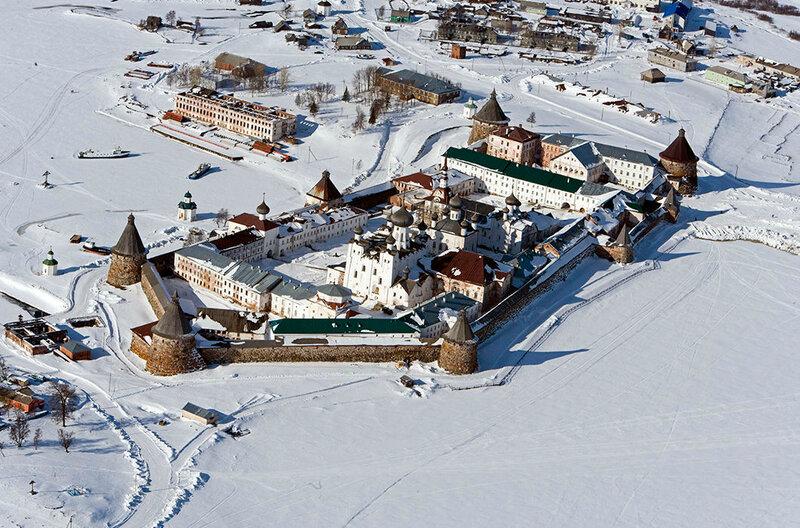 Большой Соловецкий остров. Белое море, Архангельская область