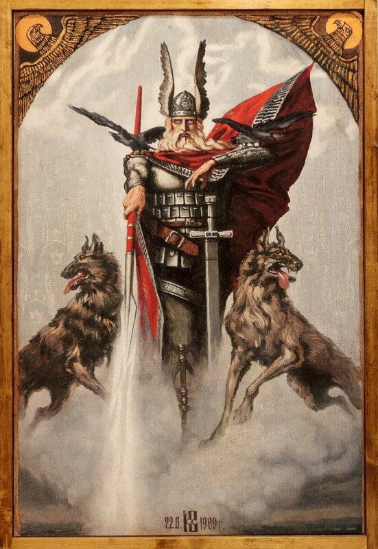 Вотан с волками, Константин Васильев