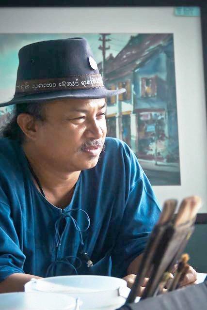 Танакорн Чаиджинда. Акварель из Таиланда.