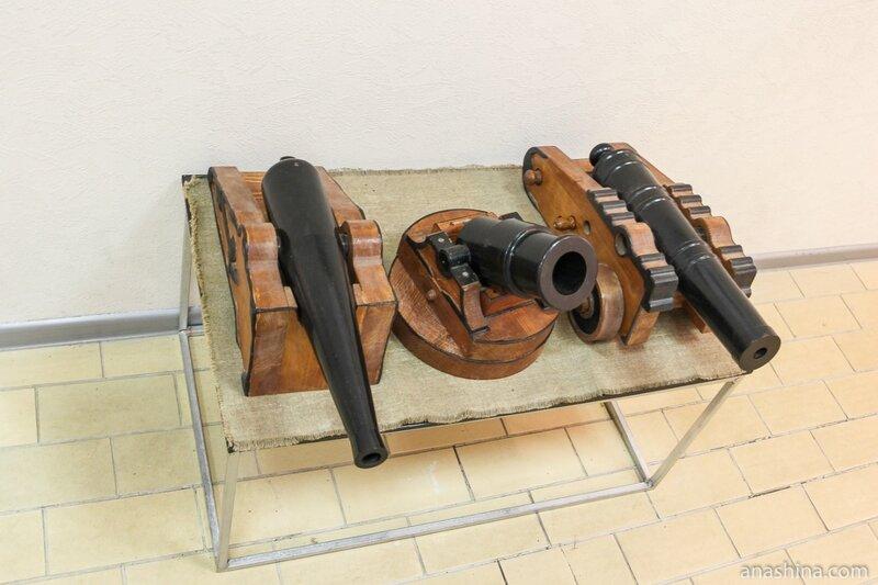 Две пушки и мортира, Музей промышленной истории Петрозаводска