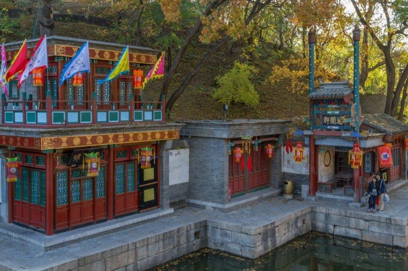 улица Сучжоу, парк Ихэюань, Летний императорский дворец
