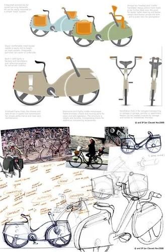 велосипед в пластике