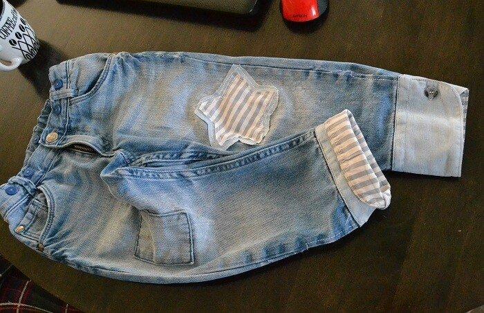 Как легко удлинить детские джинсы