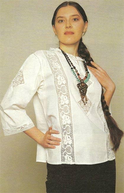 декорирование блузки своими руками