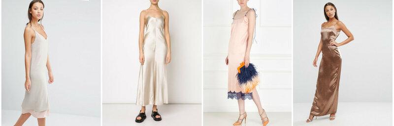 Шелковое платье Alter Tall; платье ADAM LIPPES; платье Esve; платье Missguided Tall.