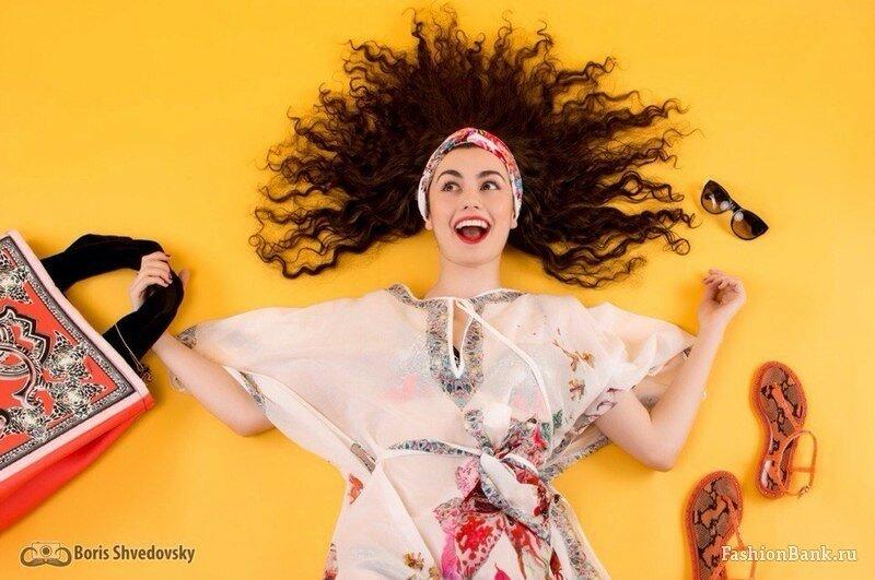 Фотографии модели Ксюши Шапиро (Fashion Bank)