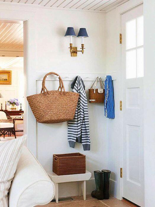 Как обустроить маленькую прихожую и сберечь пространство (10 шагов)