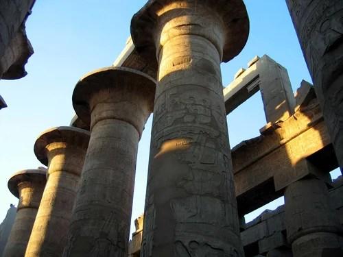 Египет, колонны