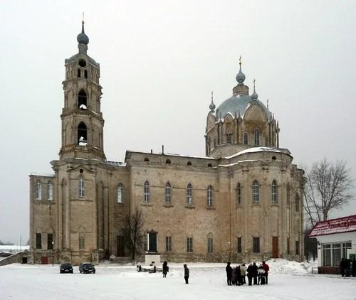 Гусь-Железный. Троицкая церковь 1868 г.