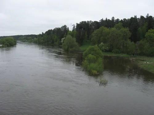 разлив Москва-реки