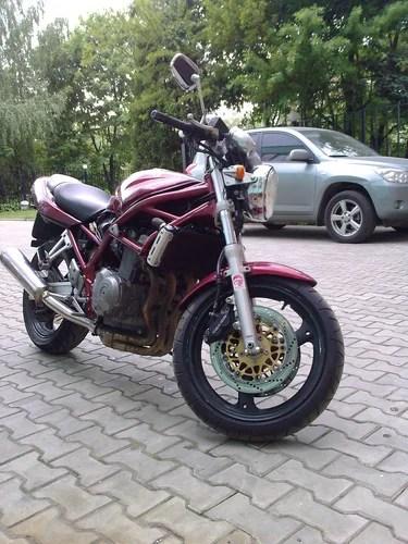 Мой Suzuki Bandit 400