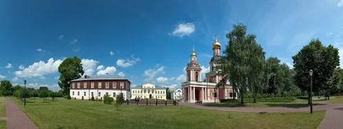 панорама усадьбы Старое Свиблово