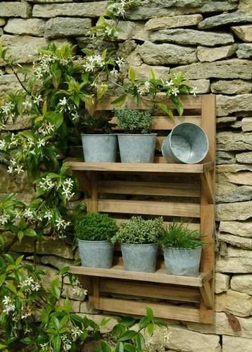 как украсить стену дома декор сада своими руками