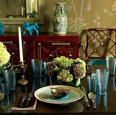 элегантная столовая