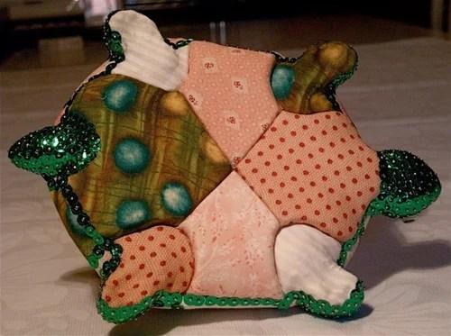 игрушка своими руками черепашка пайетки