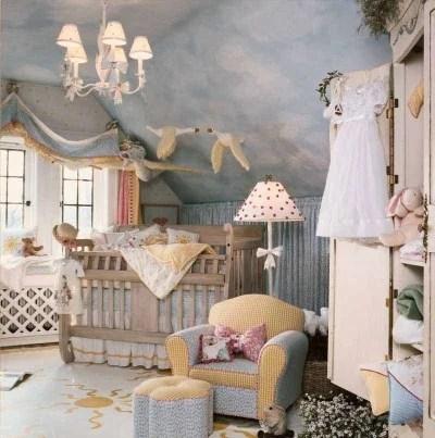 декорирование детской комнаты