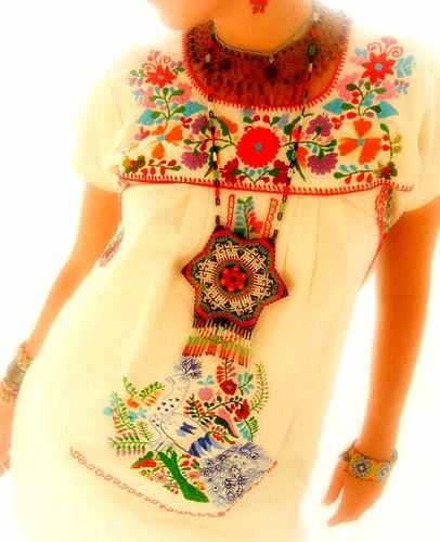 этническая одежда мексики