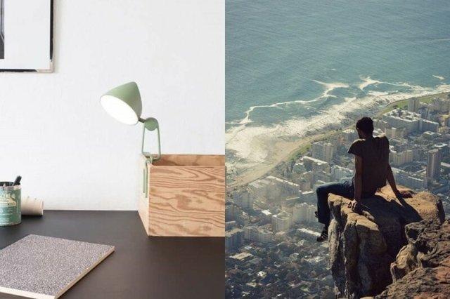 Лампа с защелкой от дизайнера Мари Хэссендаль