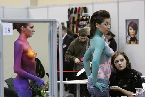 Body-Art contest