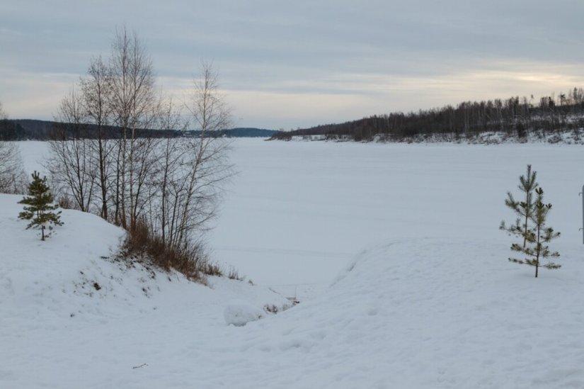 Волга в Демино
