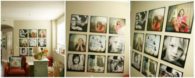 Самые крутые идеи, чтобы развесить рамки с фотографиями на стене