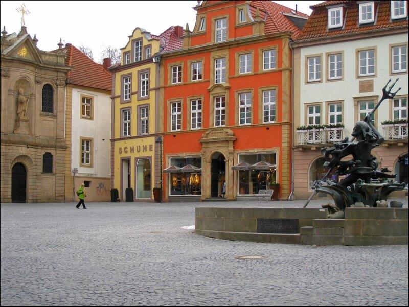 Рыночная площадь Падерборна