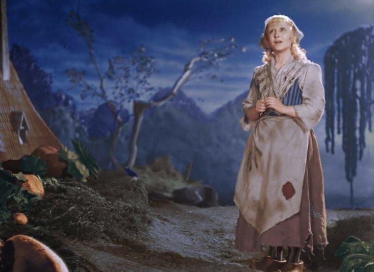 Янина Жеймо – «Золушка» (1947, 38 лет)