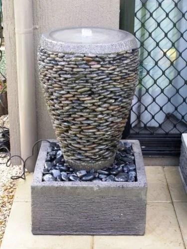 декор вазы плошки камнем своими руками